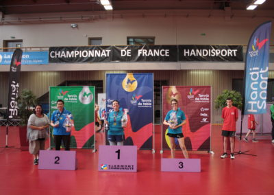 France Open Dames Debout