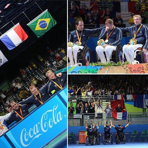 5 médailles aux Jeux Paralympiques de Rio