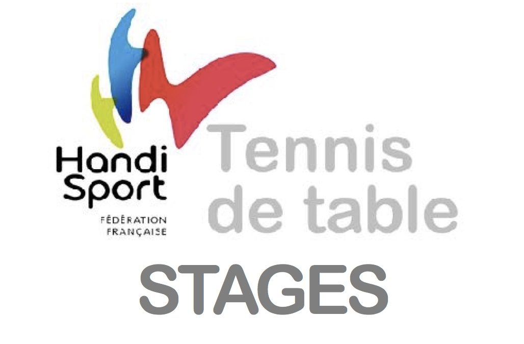 Stages Régionaux de Tennis de Table Handisport