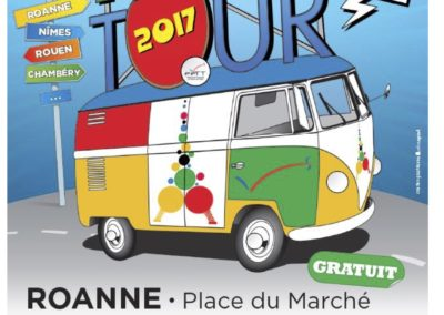 affiche ping tour 2017