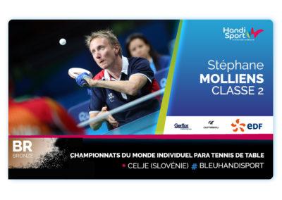 Stephane Molliens Bronze
