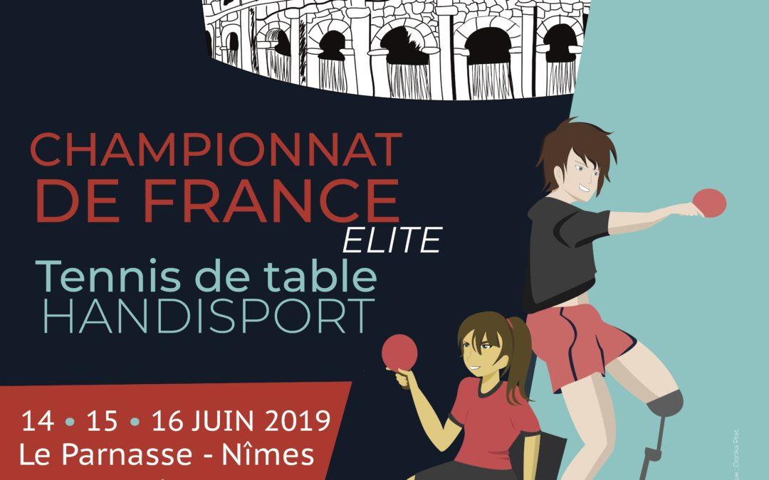 Championnat de France Élite du 14 au 16 juin à Nîmes