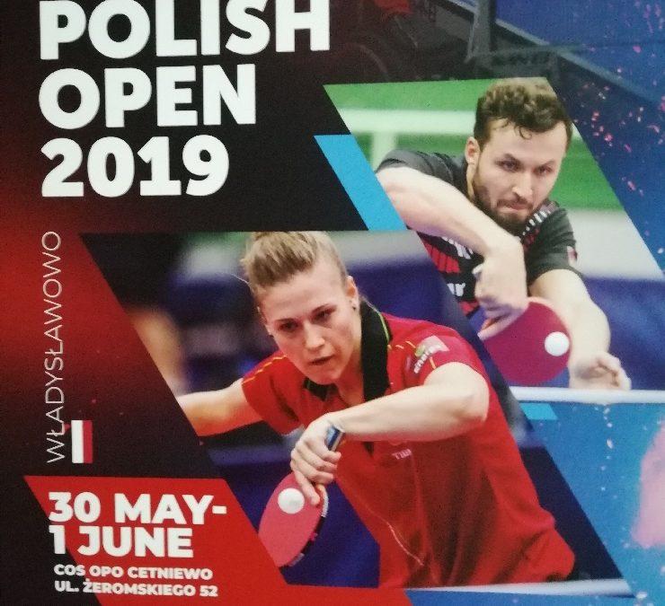 Open de Pologne – 2 médailles en simple et 3 par équipes !