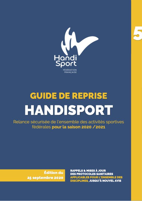 Covid-Couvre-Feu : Evolutions de la pratique - Guide Handisport